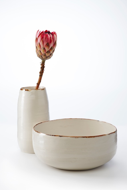 Image 5 KA Ceramics Vessel and large bowl