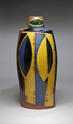 Oval bottle h47cm 2014