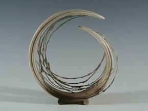 A. Salmon. No 2. Wind Rush Ht 17cm