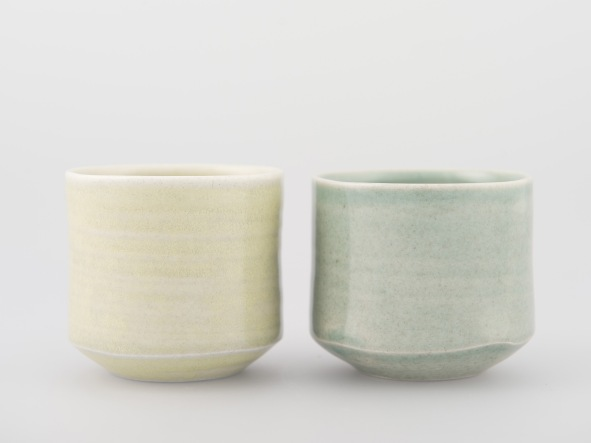 'Sea Beaker' porcelain 7cmH x 7cmW