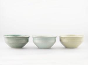 'Sea' bowls 7cmH x 14cmW