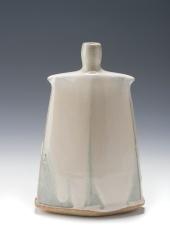 Hake J 5jpeg. Facetted vase. 25cm